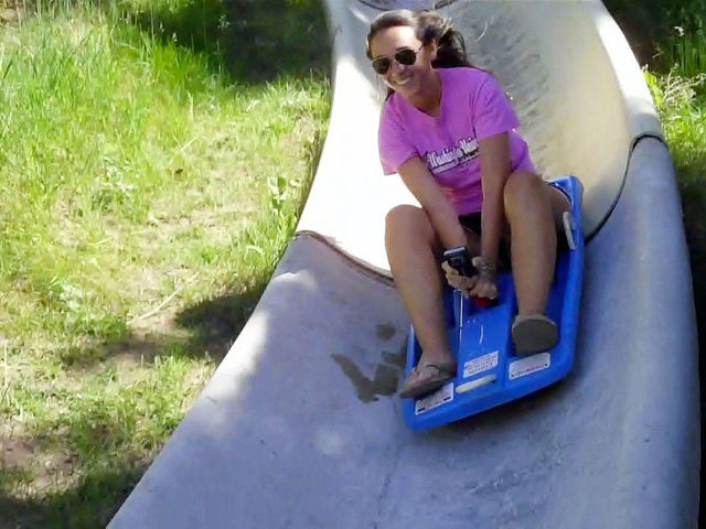 The Alpine Slide is one of Steamboat's most unique summer activities