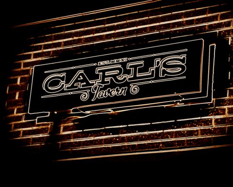 Carl's Tavern Sign