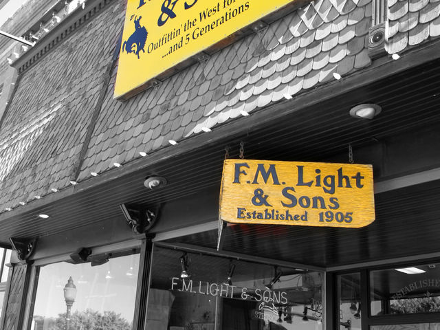 F.M. Light Storefront