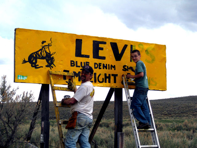 F.M. Light Annual Sign Repair