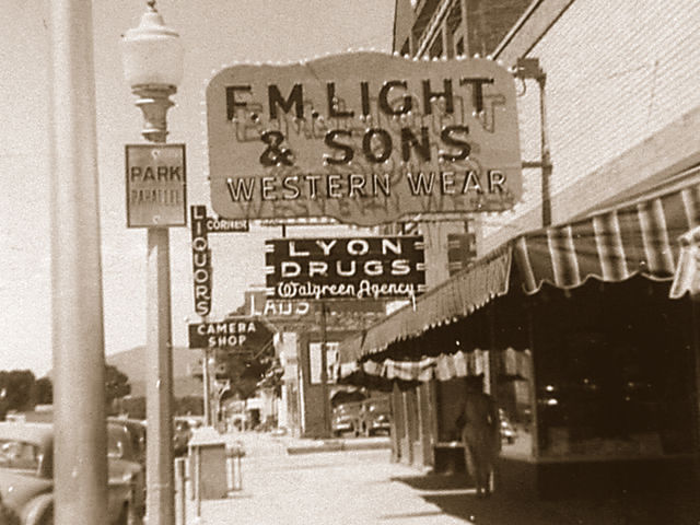 F.M. Light Sign