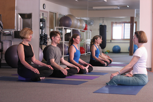 Old Town Hot Springs Yoga Class