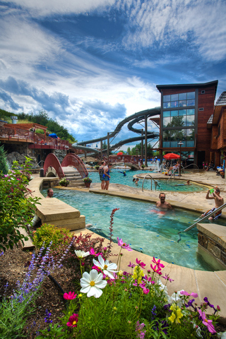 Old Town Hot Springs Summer