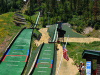 Howelsen Hilll has the largest and most complete natural ski jumping complex in North America